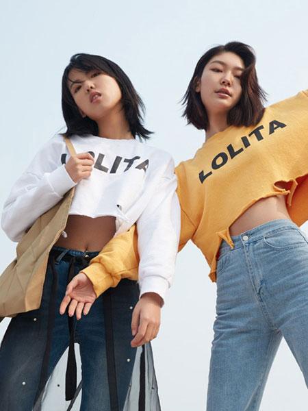 GAROSU女装品牌2019春季新款薄款连帽露脐卫衣女百搭长袖纯色T恤舞蹈队简约上衣潮