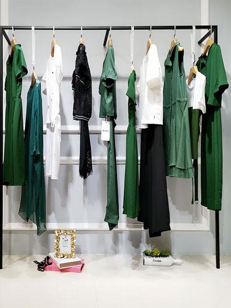 永生家居女装品牌2019春夏新款时尚舒适潮流气质宽松连衣裙
