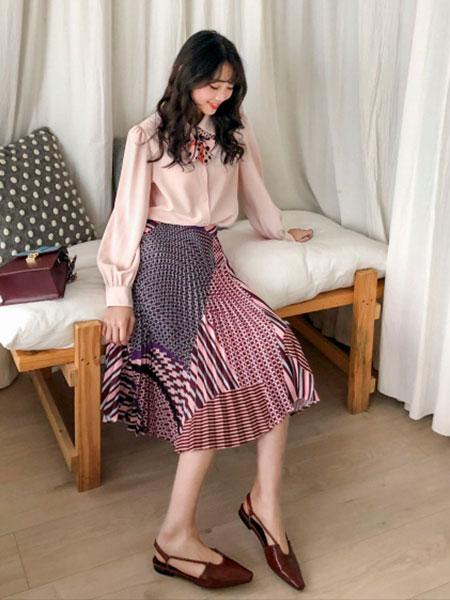 MUUZI木子集合店女装品牌2019春夏新款套装两件套洋气时尚