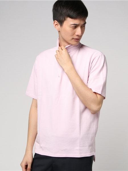 bukht男装品牌2019春夏新款时尚休闲百搭短袖T恤