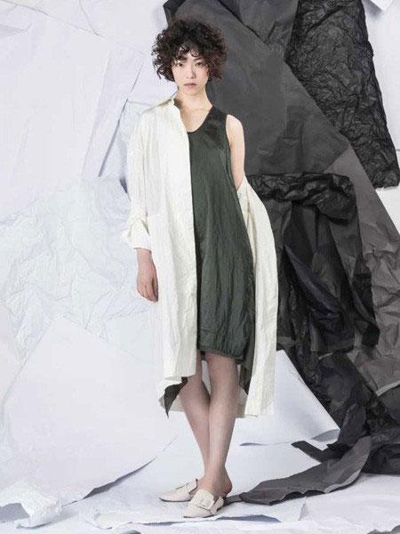 NIIJII女装品牌2019春季新款韩版气质衬衫中长款外套
