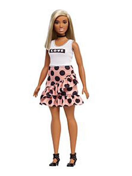 Barbie Doll芭比娃娃潮流饰品品牌2019春夏新款简约设计女孩公主玩具