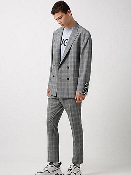 Boss Black博斯黑色男装品牌2019春夏新款时尚商务休闲西服套装