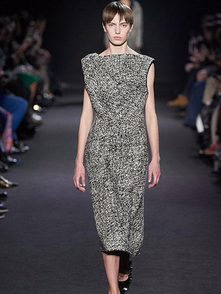 巴黎罗莎 (Rochas)女装品牌2019春夏新款复古印花碎花日系显高显瘦文艺气质连衣裙