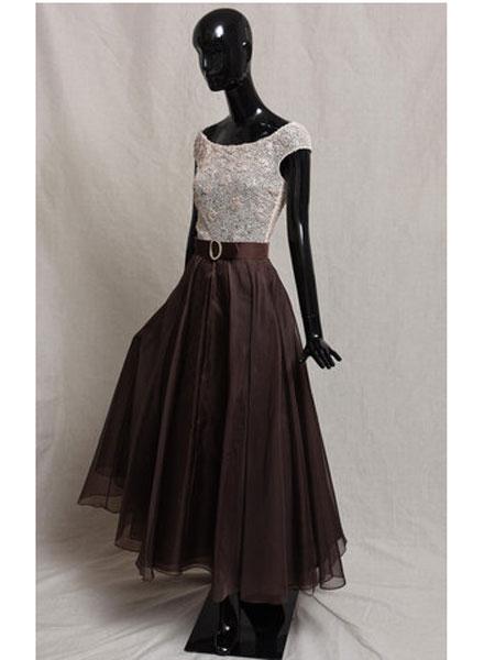 Bruce Oldfield布鲁斯·奥德菲尔德女装品牌2019春夏新款欧美风修身时尚显瘦连衣裙