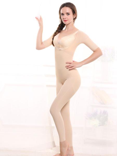 毅美内衣品牌2019春夏新款连体产后无痕束身塑身连体衣托胸美体收腰