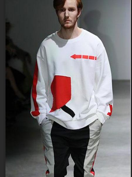 素拼男装品牌新款韩版时尚休闲宽松百搭卫衣