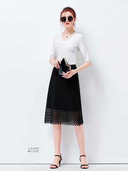 艾米女装品牌2019?#21512;?#21253;臀半身中裙一步裙