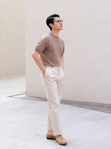 zingchen男装品牌2019春夏新款时尚休闲宽松百搭圆领短袖T恤