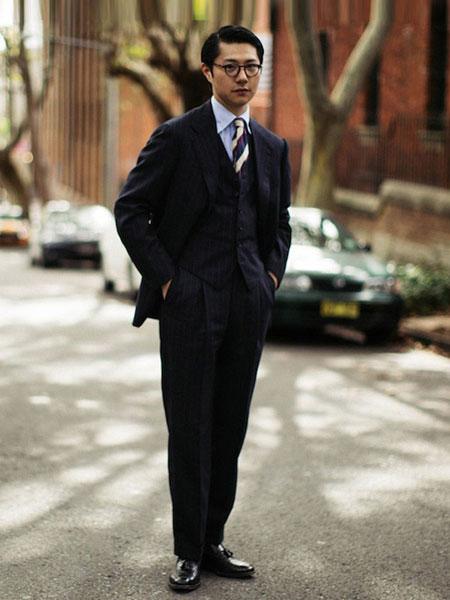zingchen男装品牌2019春夏新款时尚休闲宽松商务西服套装