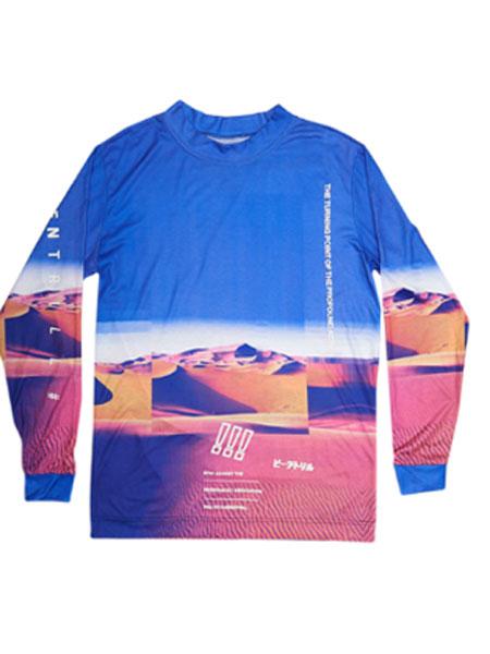 BEEN TRILL休闲品牌2019春夏新款韩版时尚宽松休闲百搭长袖上衣