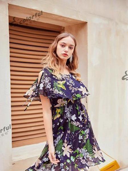 曼秀缤纷女装品牌2019春夏