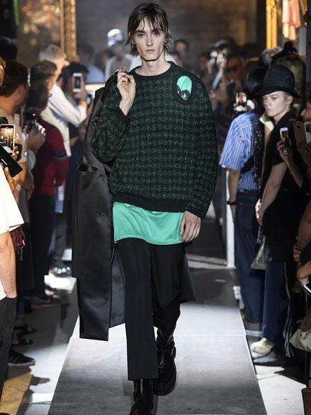 拉夫·西蒙男装品牌2019春夏新款韩版时尚休闲宽松百搭卫衣