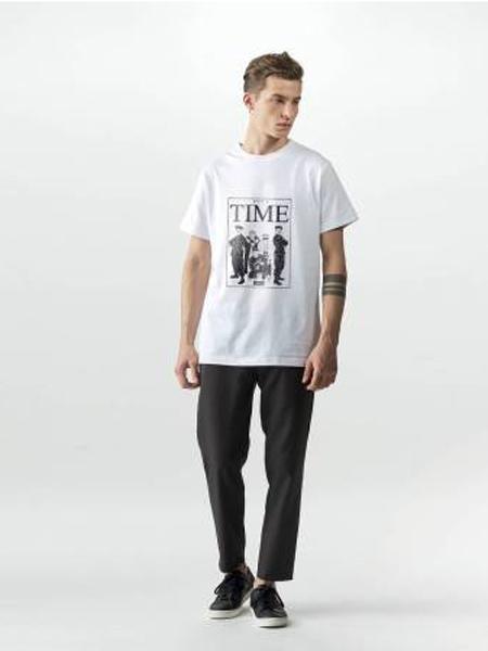 Wemoto休闲品牌2019春夏新款韩版时尚宽松百搭短袖T恤