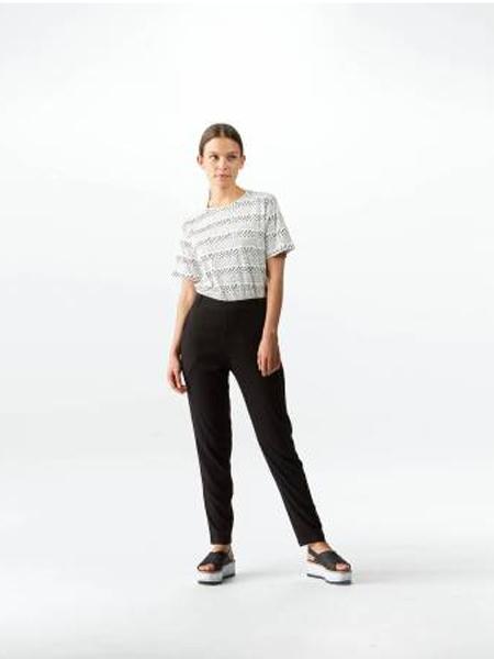 Wemoto休闲品牌2019春夏新款韩版时尚宽松百搭条纹短袖T恤