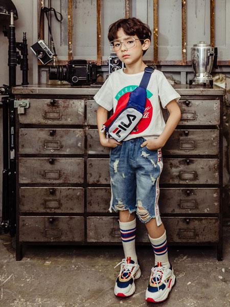 卡拉美童装品牌2019春夏儿童洋气上衣休闲韩版潮