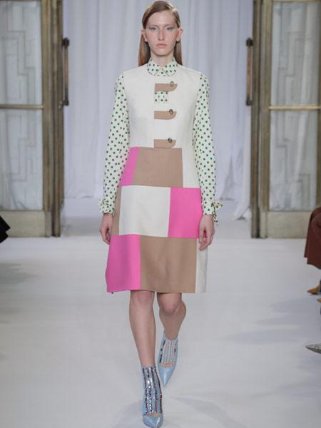 Emma Cook艾玛·库克女装品牌新款韩版气质休闲连衣裙