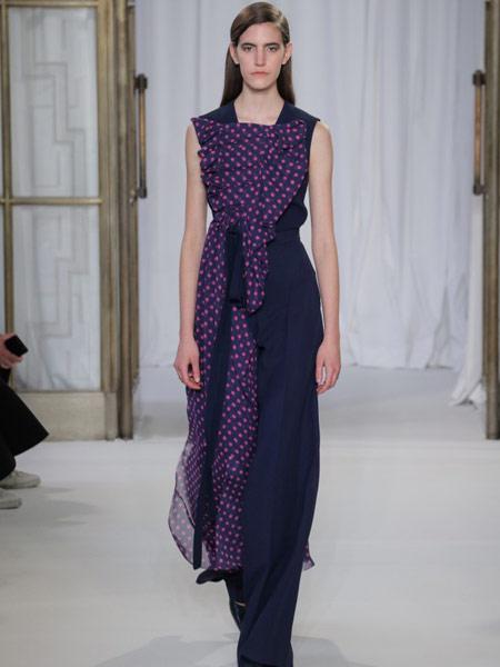 Emma Cook艾玛·库克女装品牌新款韩版气质休闲无袖连衣裙