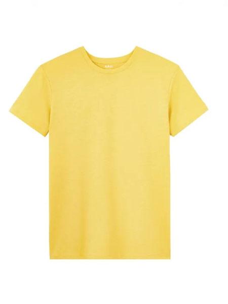 Archer Adams阿切·亚当斯男装品牌2019春夏新款时尚休闲宽松百搭圆领短袖T恤