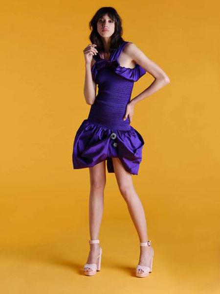 Emilio de la Morena埃米利奥·德拉莫雷纳女装品牌2019春夏新款时尚修身显瘦连衣裙