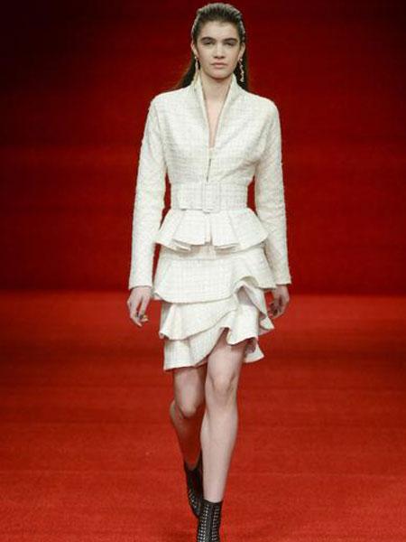 Emilio de la Morena埃米利奥·德拉莫雷纳女装品牌2019春夏新款时尚气质收腰连衣裙