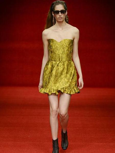 Emilio de la Morena埃米利奥·德拉莫雷纳女装品牌2019春夏新款高贵优雅端庄大气宴会晚礼服
