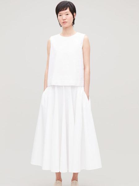 Beams Boy女装品牌2019春夏新款时尚宽松高腰百搭半身裙