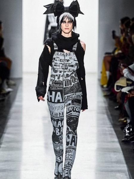 Jeremy Scott杰瑞米·斯科特女装品牌2019春夏新款时尚潮流简约个性背带裤