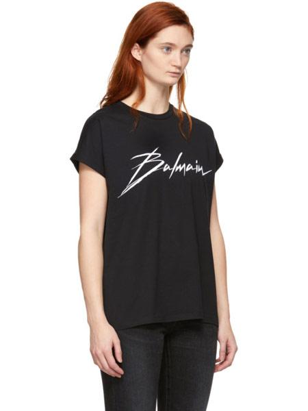 Matchless London女装品牌2019春夏新款时尚休闲宽松百搭短袖T恤