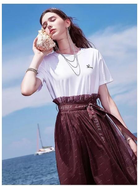 广州千纳服饰品牌女装折扣公司服装批发品牌2019春夏新品