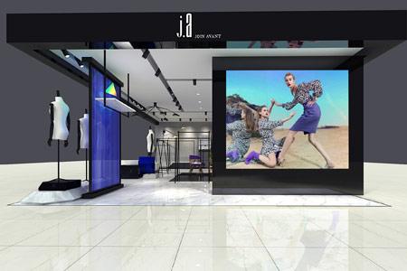 JA&EXUN品牌店铺展示