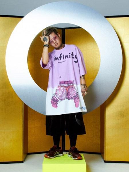 Bernhard Willhelm本哈德·威荷姆休闲品牌2019春夏新款时尚潮流简约休闲宽松短袖T恤
