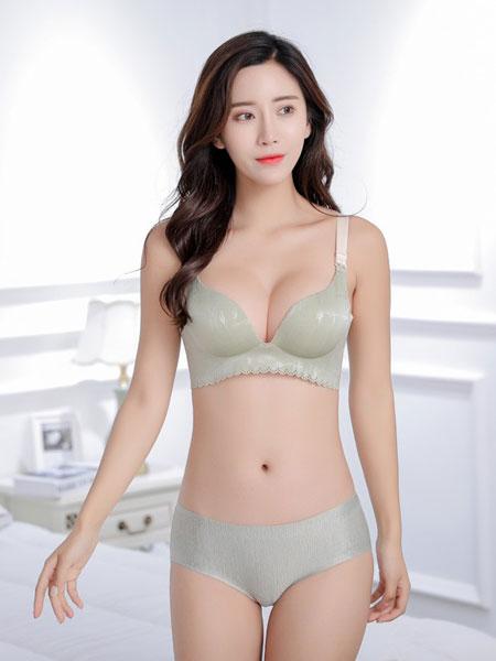 珍妮芬内衣品牌2019春夏薄款透气性感收副乳内衣胸罩