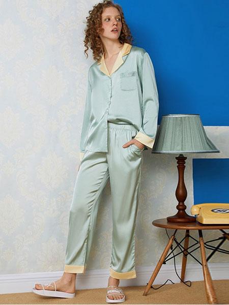 三耳兔内衣品牌2019春夏短裤休闲两件套睡衣
