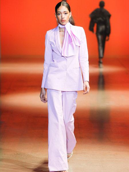 Damir Doma达米尔·多玛女装品牌2019春夏新款时尚奢华外套阔腿裤气质欧美风范撞色小西装OL套装