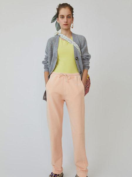 Bruno Pieters布鲁诺·皮特斯女装品牌2019春夏新款时尚低腰直筒九分休闲裤