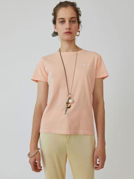Bruno Pieters布鲁诺·皮特斯女装品牌2019春夏新款时尚休闲百搭短袖T恤