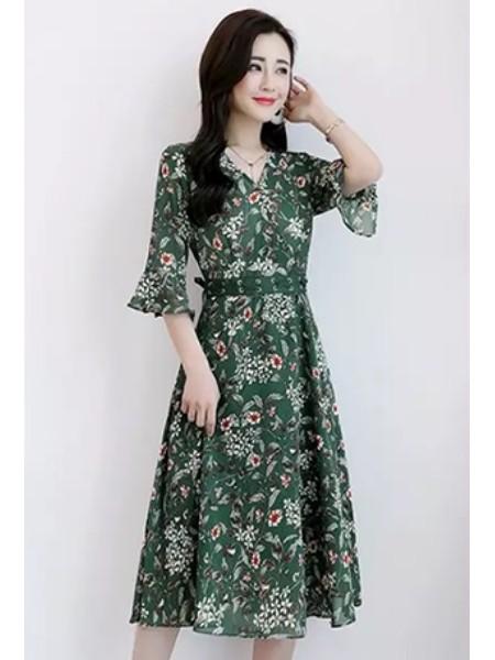 花月秋女装加盟女装品牌2019春夏新品