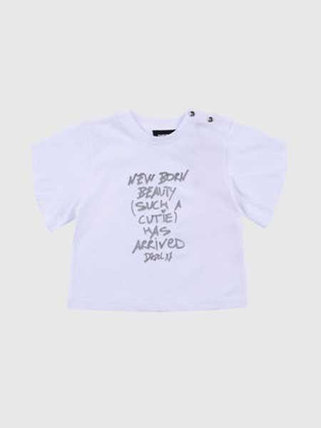 Baby Milo童装品牌2019春夏新款时尚女童纯棉韩版时尚圆领短袖T恤