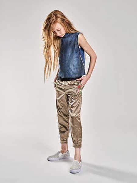 Diesel Kids迪赛童装童装品牌2019春夏款时尚修身显瘦无袖上衣