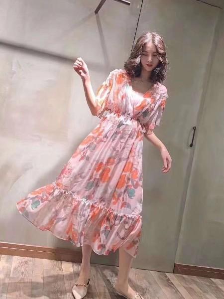 欧货组合连衣裙女装品牌2019春夏新品