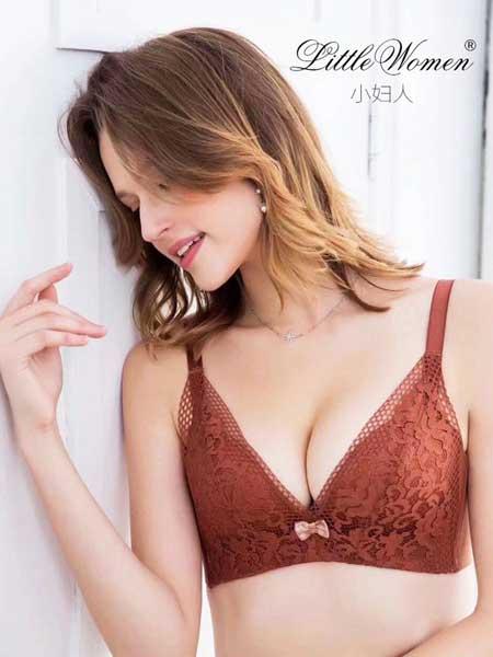小妇人内衣品牌2019春夏无钢圈小胸聚拢性感蕾丝内衣女上托收副乳防下垂调整型文胸罩