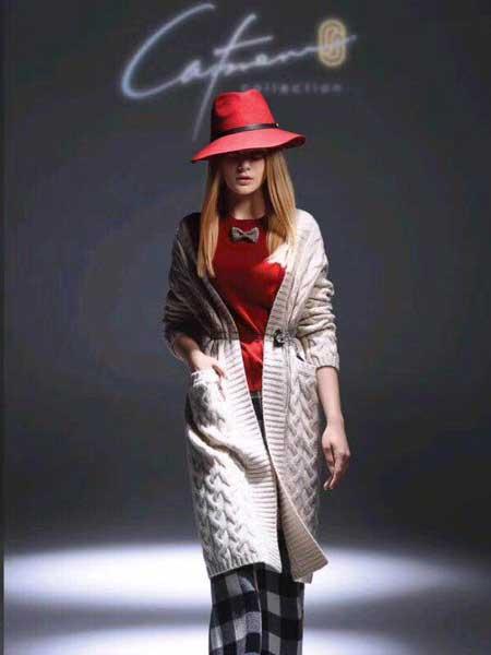 凯妃米儿女装品牌新款韩版宽松百搭针织衫开衫中长款外套