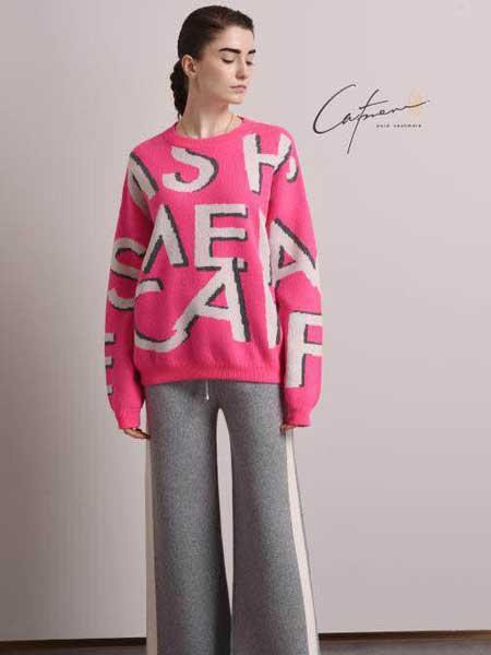 凯妃米儿女装品牌新款小清新甜美针织衫圆领宽松百搭上衣