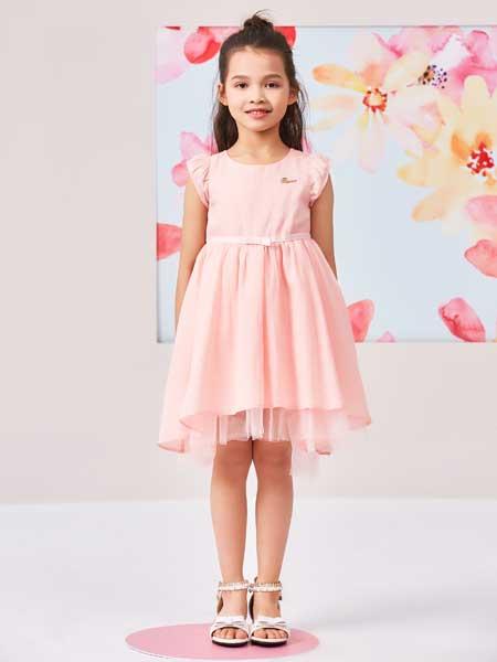 小猪班纳童装品牌2019春夏新款韩版时尚气质百搭公主裙