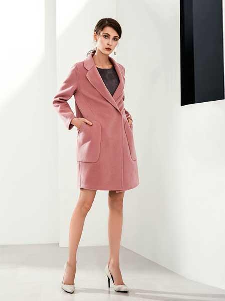 赫本家 - HEBENJIA女装品牌新款中长款矮个子修身宽松外套