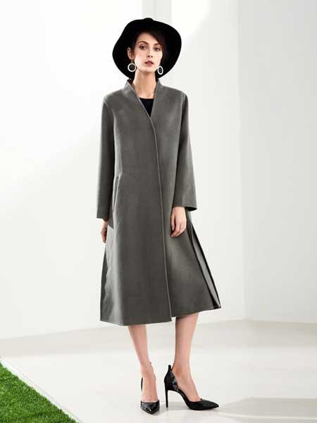 赫本家 - HEBENJIA女装品牌新款韩版气质中长款外套