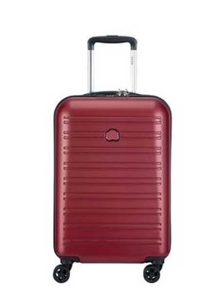 Delsey法国大使箱包品牌2019春夏新款商务旅行密码箱双层拉链行李箱
