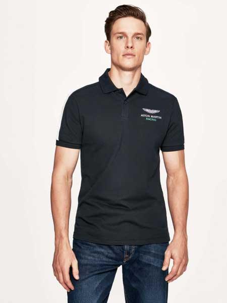 BBC|Ice Cream亿万少年俱乐部男装品牌2019春夏新款时尚商务休闲百搭翻领短袖T恤