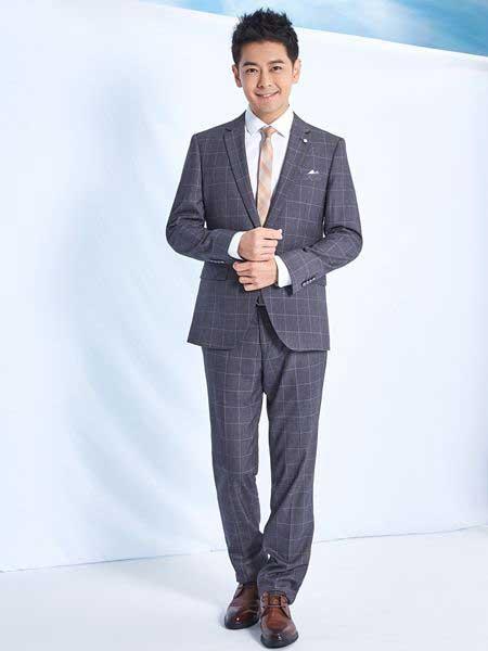 罗蒙ROMON男装品牌2019春夏新款版修身休闲商务正装英伦外套个性潮流小西装